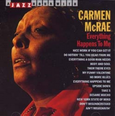mcrae carmen mcrae everything happens to me cd online shop cd carmen